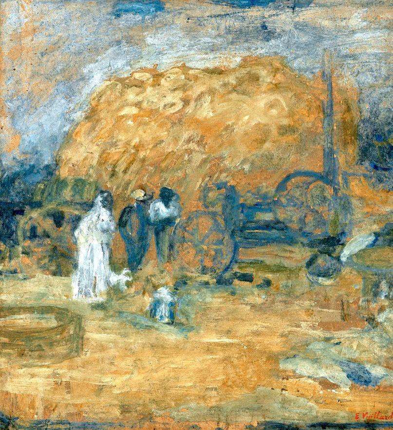 "bofransson: ""Edouard Vuillard LA BATTEUSE """