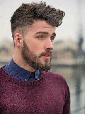 Rough Fade Hairstyle Haircuts For Men Mens Hairstyles Wavy Hairstyles Medium