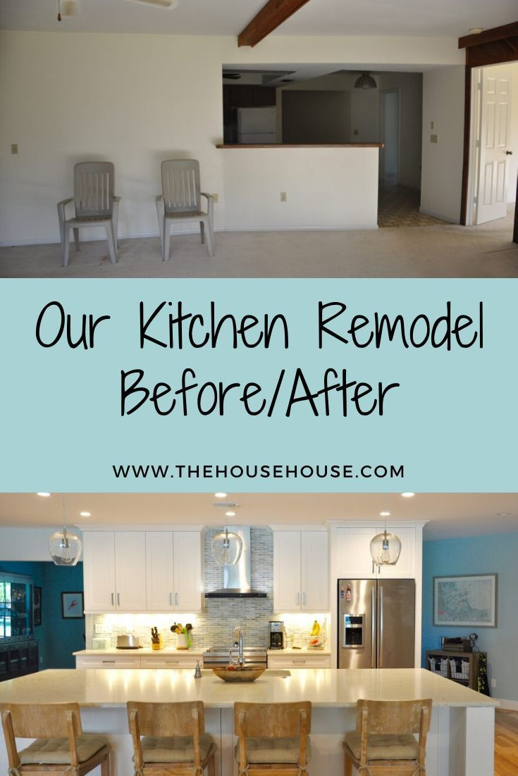 Photo of Home Remodel Countertops Click to see how we took this outdated kitchen and turn…
