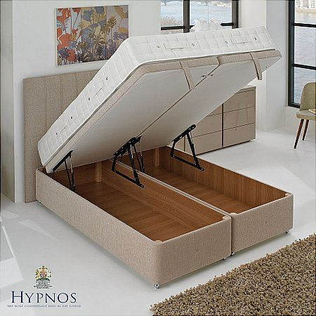 This Is Our Bed But With No Headboard Bedrooms Bed Ottoman