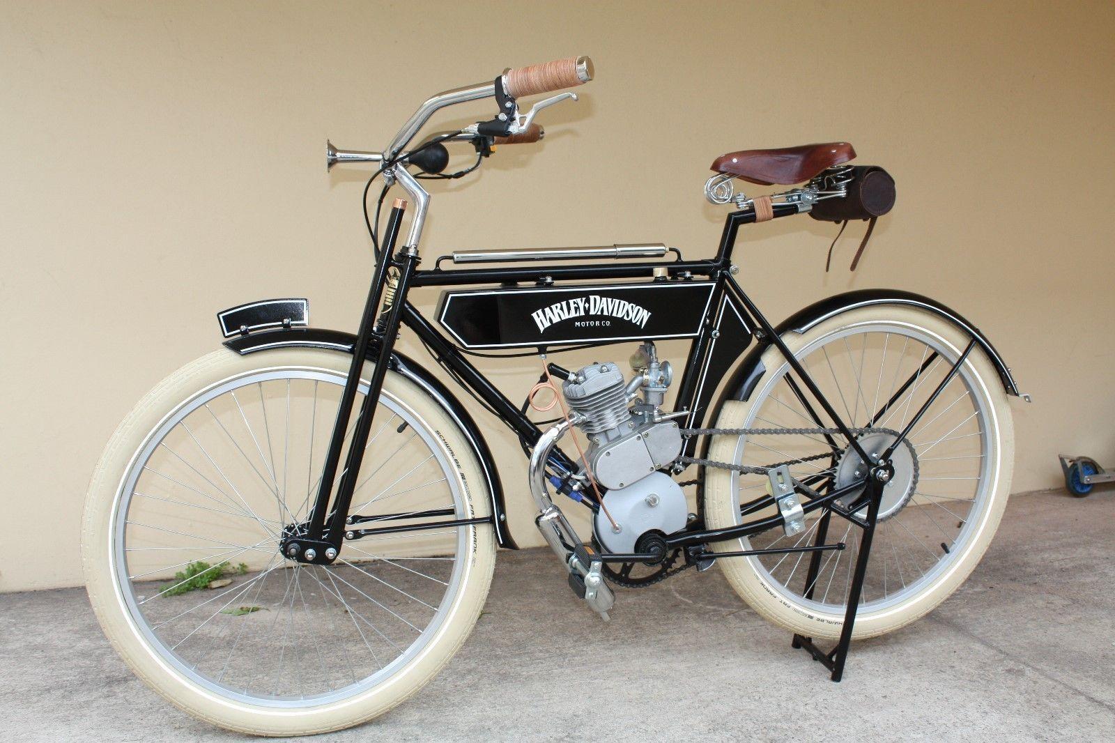 1904 Harley Davidson Style Motorized Bike
