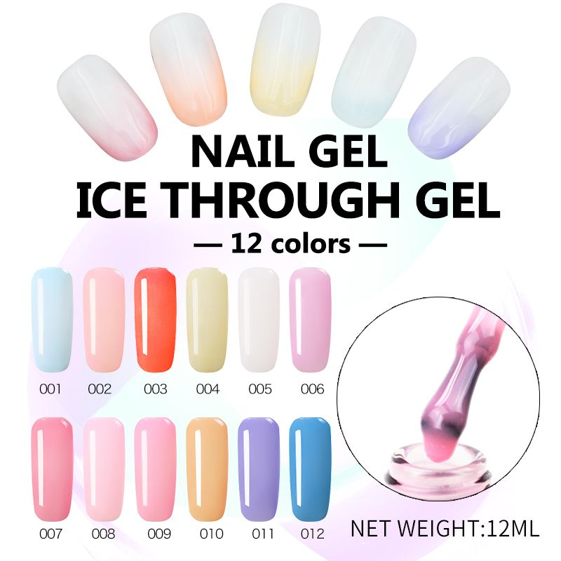 Ellwings Luminous Nail Polish Lasting Fluorescent Barbie Qq Nail Glue 6ml Sale Price Reviews Gearbest Luminous Nails Gel Nails Glue On Nails