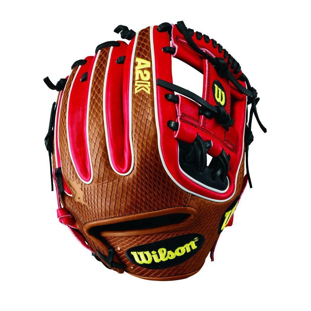 Wilson 2017 A2K Brandon Phillips Game Model Baseball Glove, 11.5in, Right  Hand Throw