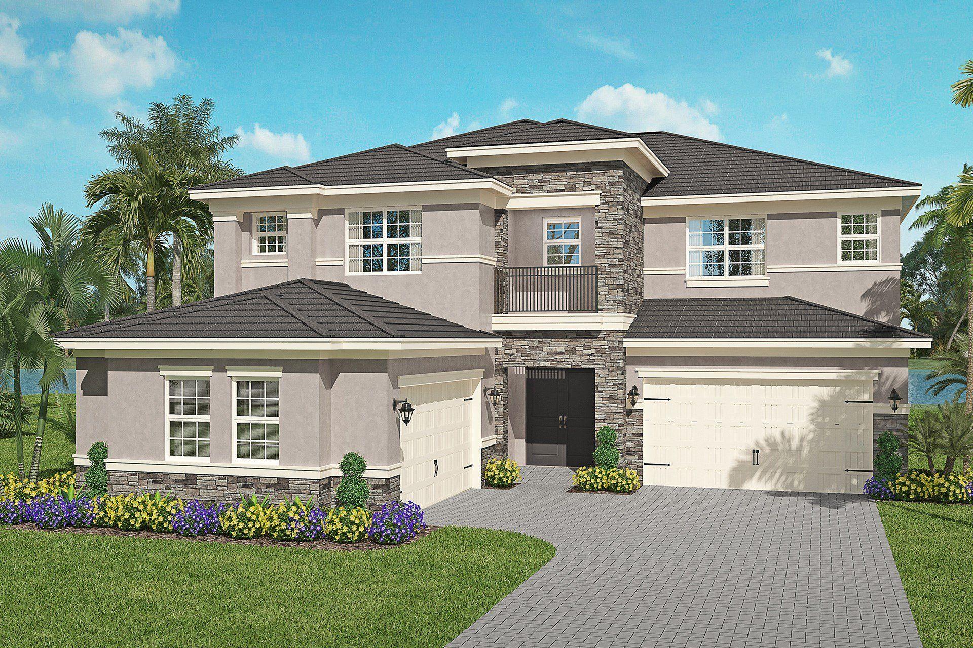 Garnet Plan Florida Real Estate Gl Homes In 2020 Florida Real Estate Flat Roof Tiles Interior Light Fixtures