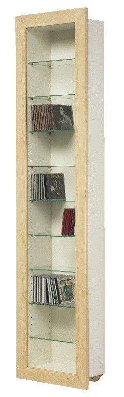 Ikea Bertby Wall Mounted Display Cabinet Cd Dvd Storage