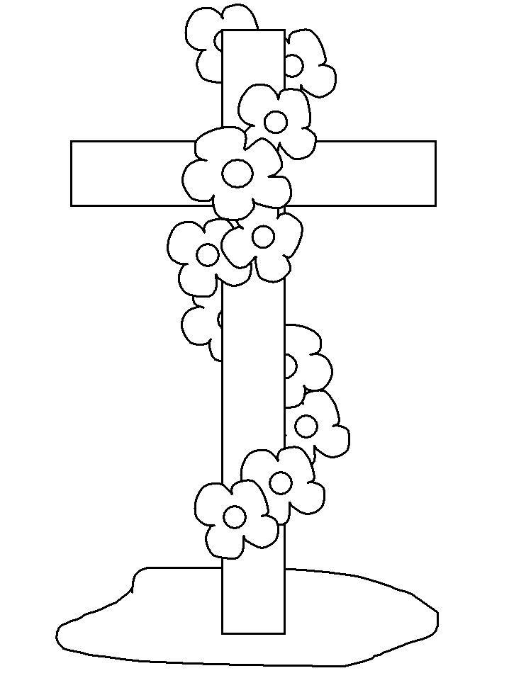 cruz-para-pintar.jpg (718×957)   Dibujos   Pinterest   Dibujo