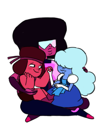 Garnet | Sapphire & Ruby | Steven Universe | Cartoon Network
