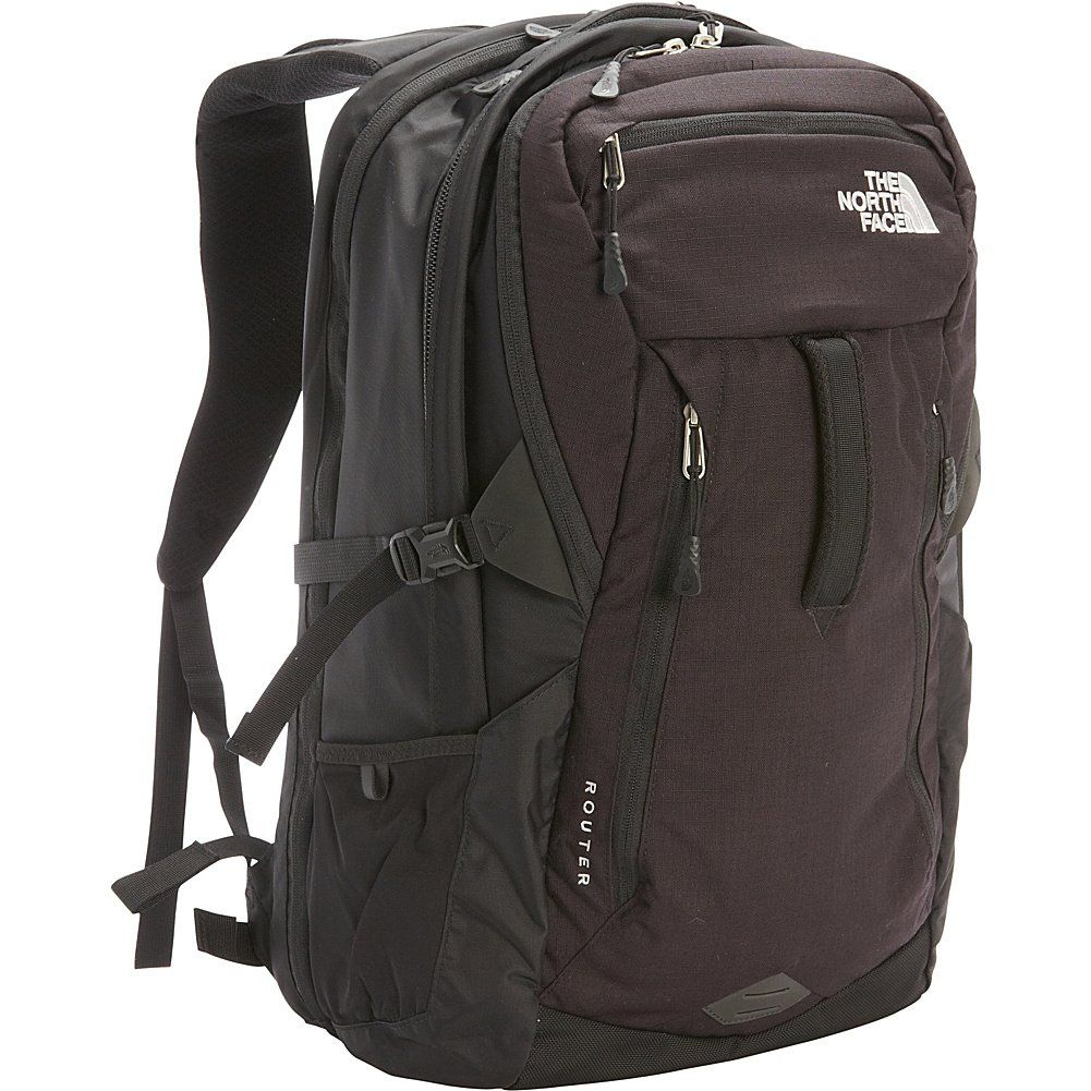 ac73b9048 The North Face Router Daypack - TNF Black. Dedicated lie-flat 17 ...