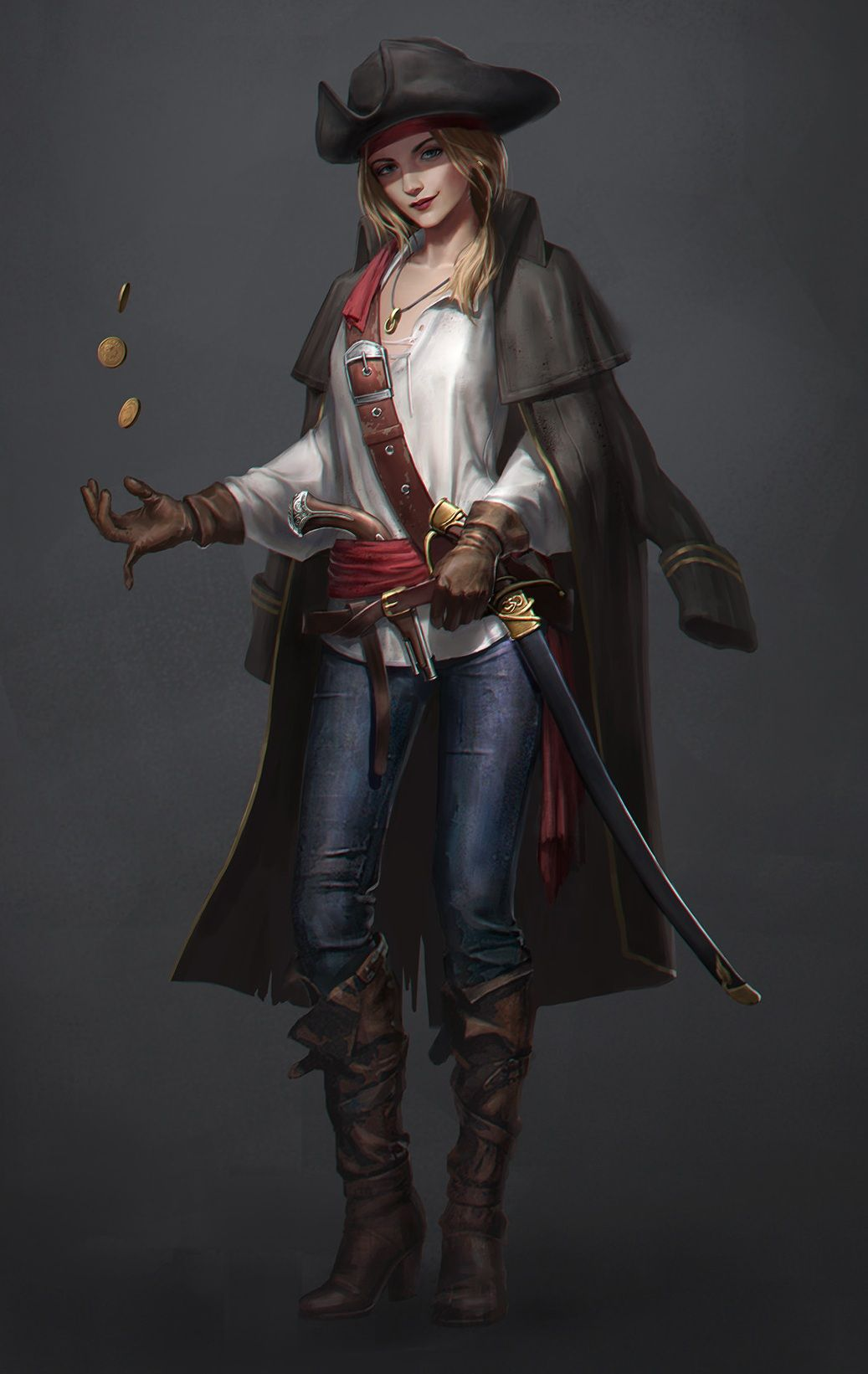 """we-are-rogue: """" Pirate, by Eryc TSang @we-are-pirate ... - photo#19"""