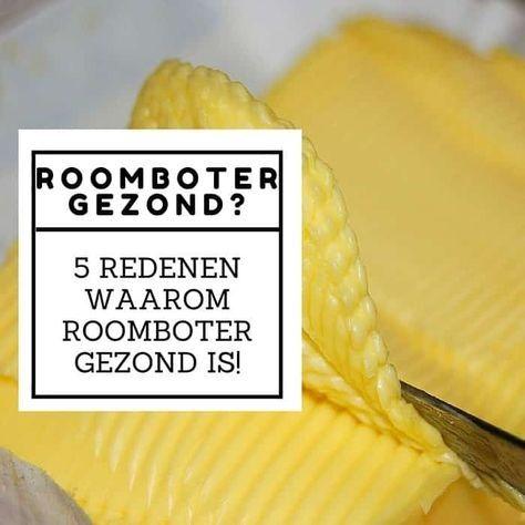 waarom roomboter beter dan margarine