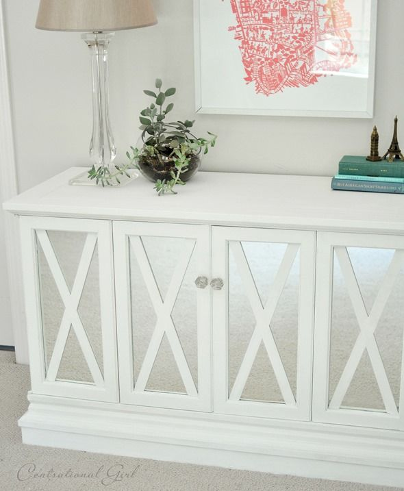 5 Ways To Get This Look: Spring Living Room   Infarrantly Creative. Stereo CabinetConsole  CabinetCabinet DoorsOld ...