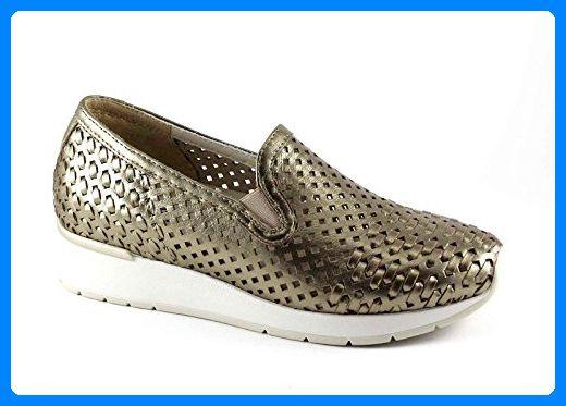 Melluso WALK R20006 Dämmerung Gold Schuhe Frau abnehmbare Plantar Mokassin 41 - Slipper und mokassins für frauen (*Partner-Link)