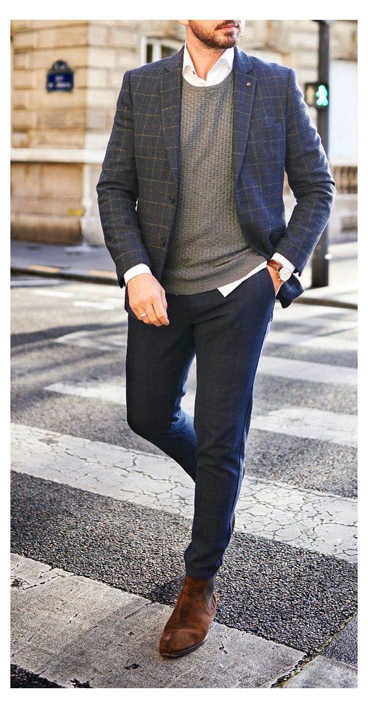 formal mens fashion business casual shirts