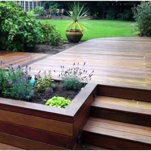 Jardinera Decks Merbau Decking Timber Deck Planter Boxes