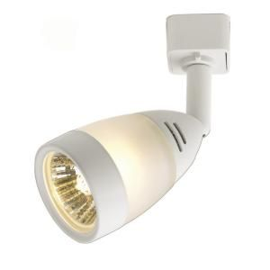 Hampton Bay White Middle Gl Linear Track Lighting The Home Depot