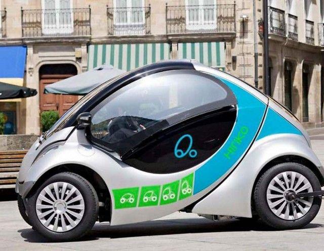 Hiriko Folding Car Ready For Sale Next Year Wordlesstech Electric Car Fit Car Concept Car Design