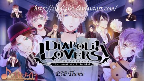Diabolik Lovers PSP Theme by sindia64 devianta    on