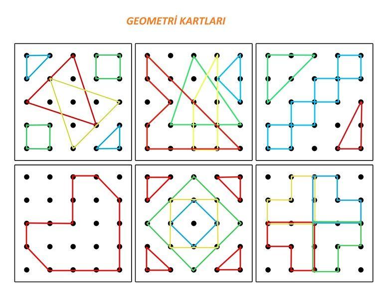 Sekiller Okul Oncesi En Guzel Sekil Etkinlikleri Geometri Kartlar Ogretim