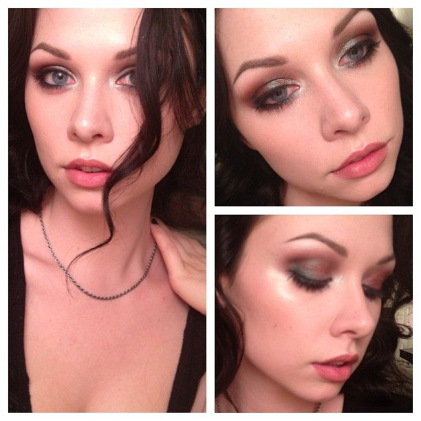 New #makeuptutorial up on #YouTube! http://youtu.be/11NyfgHT1fQ  #duochrome #smokeyeyes #maccosmetics #pigment #bluebrown #queenofthedamned #gothicbeauty
