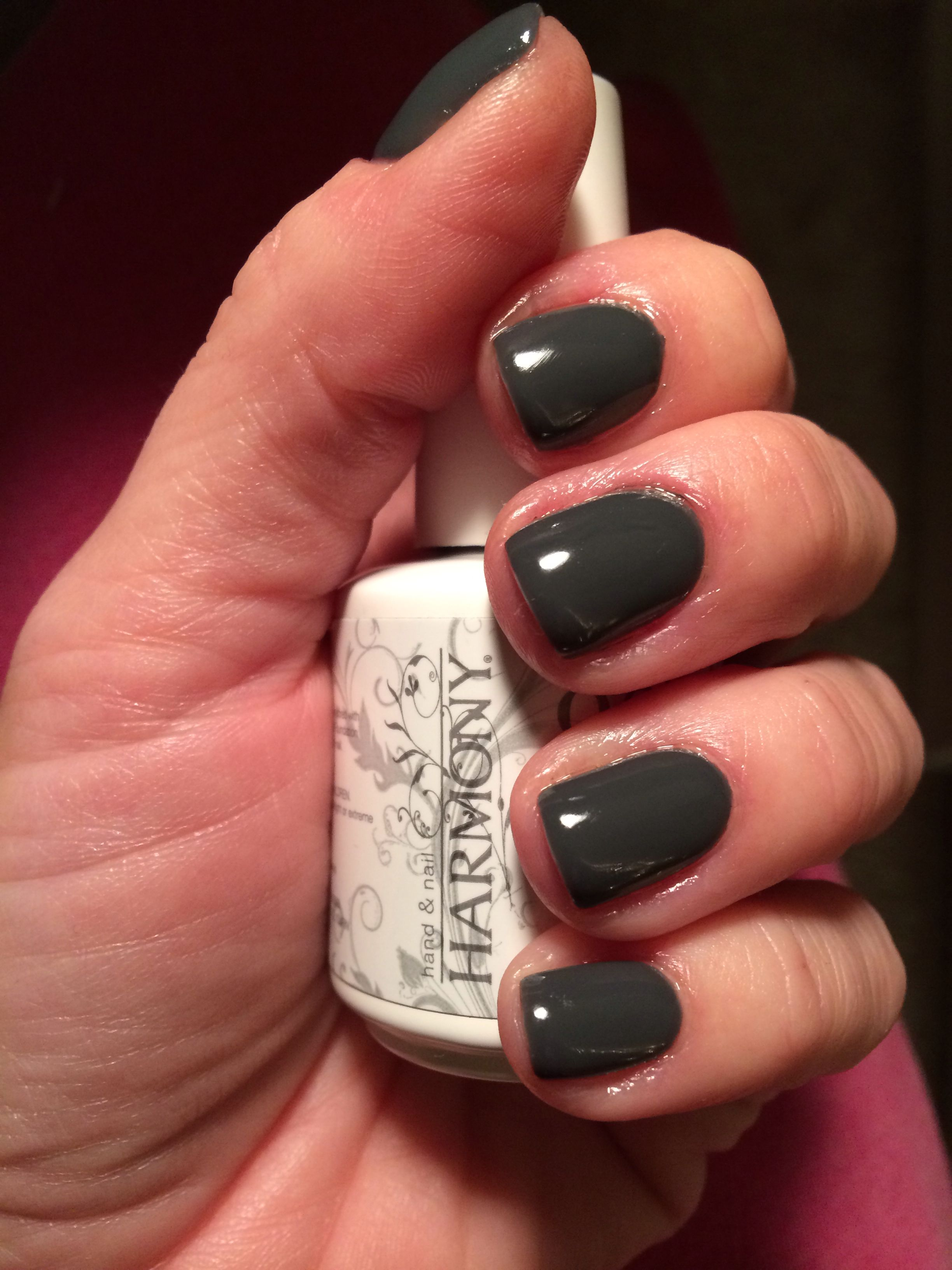 Gelish, fashion week chic. A chic, cool grey perfect for the fall ...