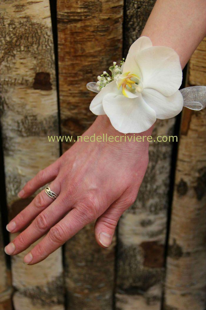 brazalete de flores. | decoración | pinterest | wedding, wrist
