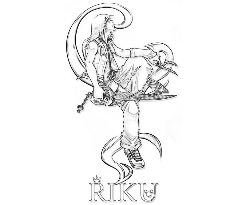 kingdom hearts coloring pages | Home > Kingdom Hearts > Kingdom ...