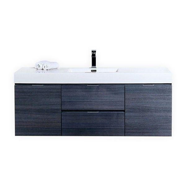 Kubebath Bliss 59 Inch Single Sink Bathroom Vanity New Bath