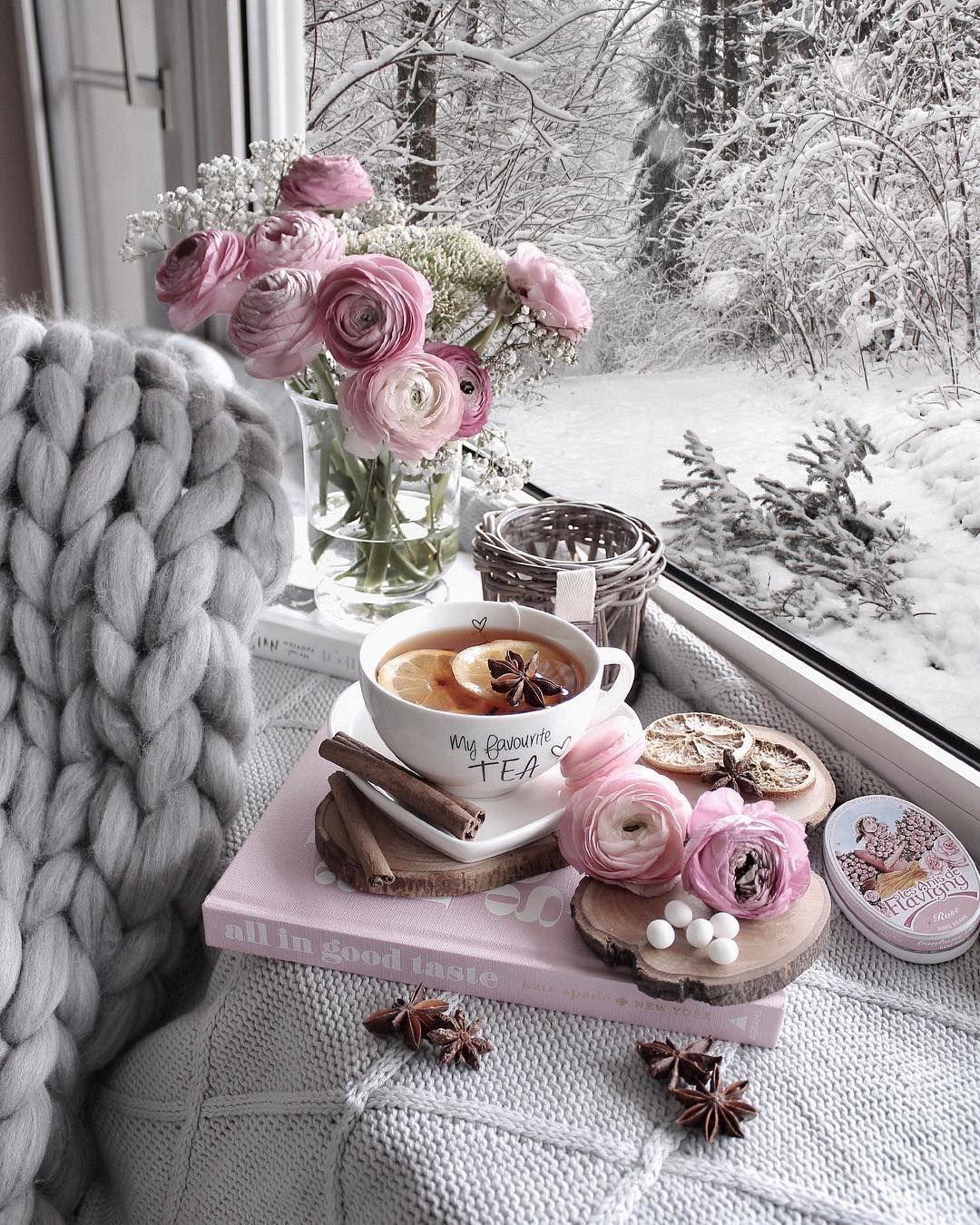 """Gözde on Instagram: """"WINTER TEA with orange slices and cinnamon ☕️ try it once! 😋. Mein Lieblingstee! Mit Orangen und Zimt! ☕️🍊☃️ Probier mal 😋   Werbung   . ..."""