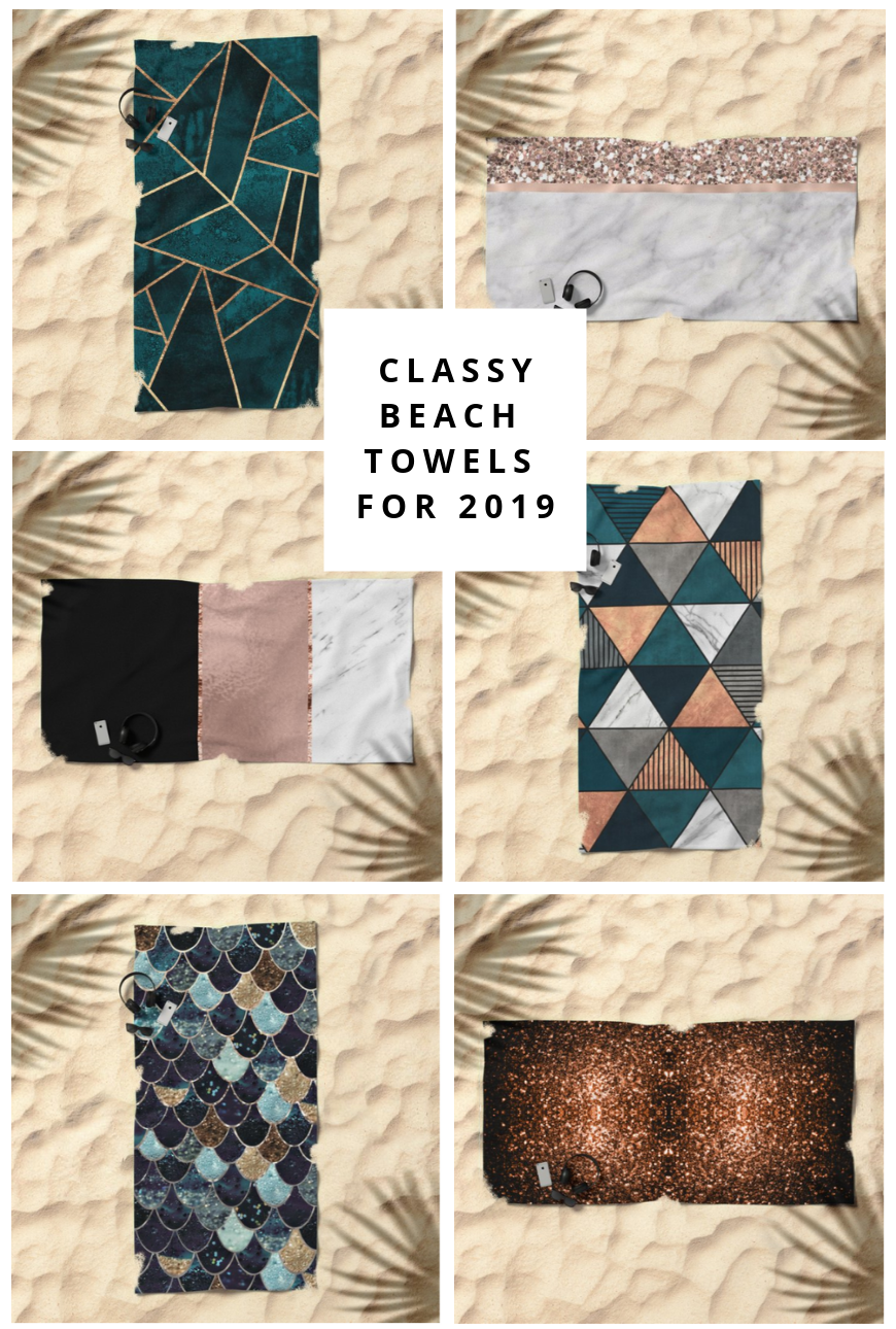 30 Cool And Printed Beach Towels To Buy In 2019