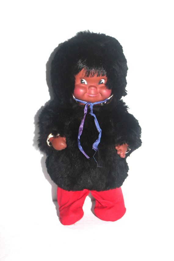 Vintage Regal of Canada Inuit Eskimo Doll by AntiqueAlchemyShop