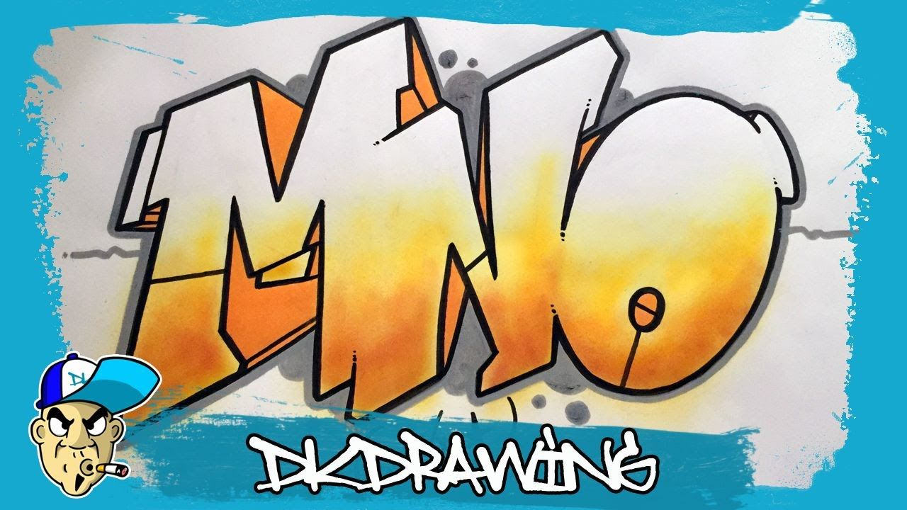 Graffiti Tutorial For Beginners How To Draw Graffiti Style Letters M To O Graffiti Graffiti Drawing Graffiti Lettering Alphabet