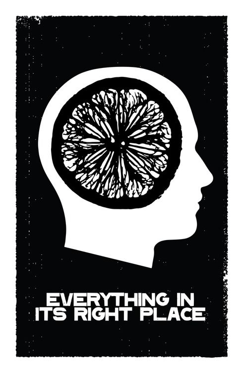 Everything In Its Right Place Radiohead Radiohead Word Pictures Music Pictures