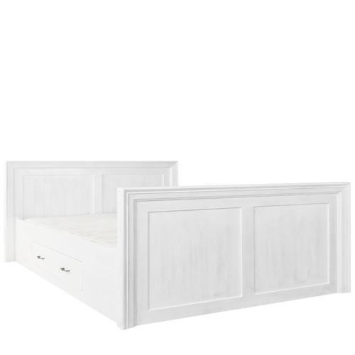 Massivholz Bett 90x200 Cm Lattenrost Schubladen Modern