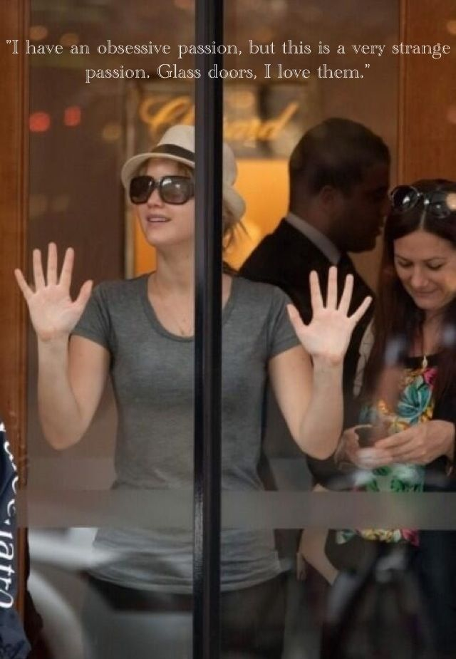 Oh Jennifer Lawrence. - Imgur