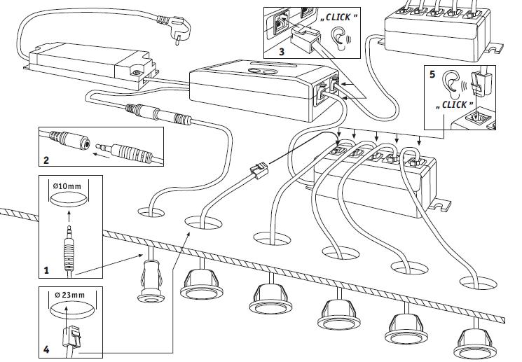 installation spots encastrables | Идеи для дома | pinterest