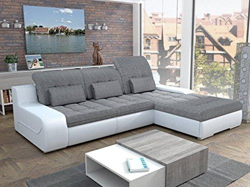 European Sleeper Sectional Sofa Pull Out Bed Giorgio With Storage Modern Design Color