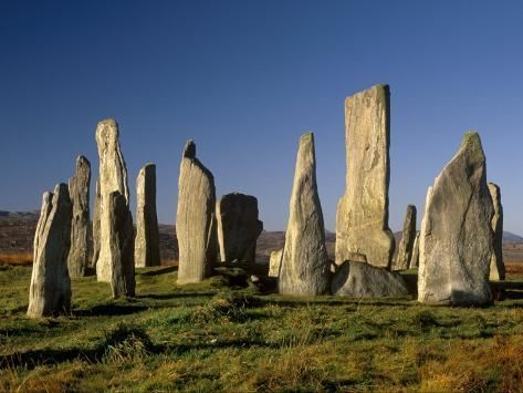 Photographic Print: Callanish Standing Stones, Isle of Lewis, Outer Hebrides, Scotland by Patrick Dieudonne : 24x18in #outerhebrides Photographic Print: Callanish Standing Stones, Isle of Lewis, Outer Hebrides, Scotland by Patrick Dieudonne : 24x18in #outerhebrides