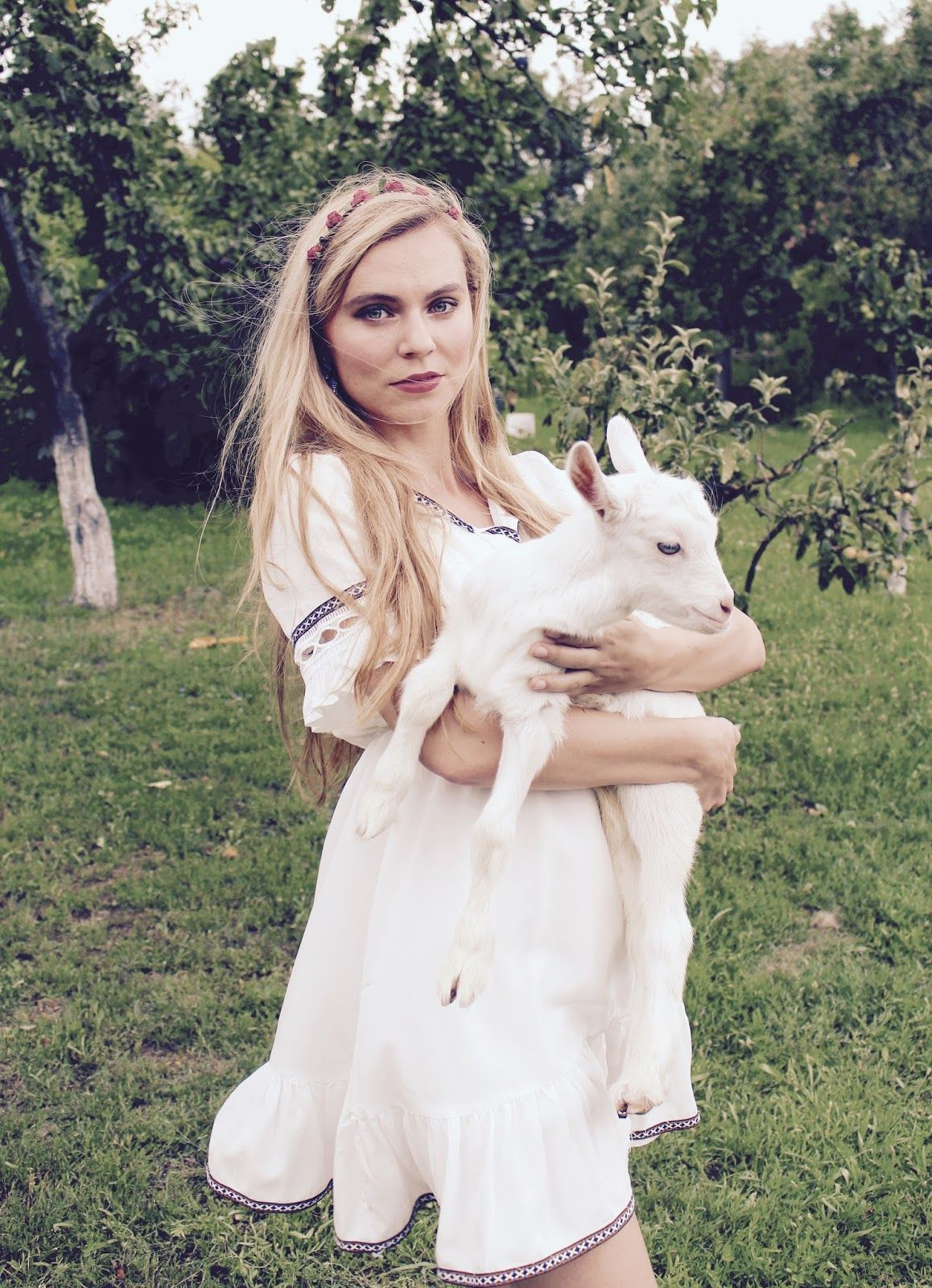 #zaful#dress#outfits#summer#whitedress#goat#boho#style