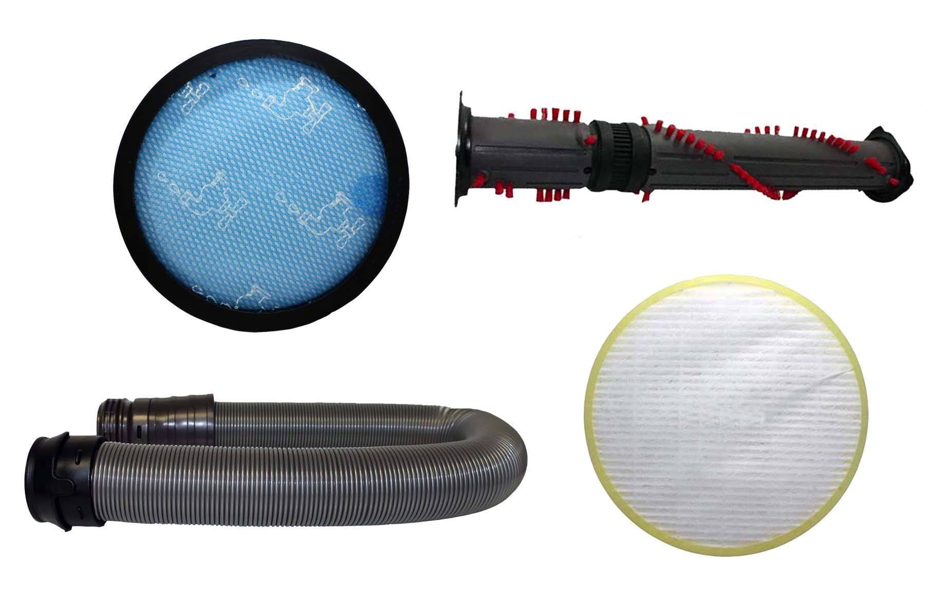 Replacement brush roller hose pre post hepa filter kit