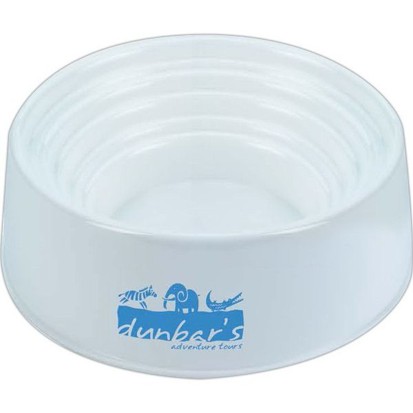 Pet Bowl With Measurements Measures 1 4 Cup 1 2 Cup And 1 Cup White Product Size 5 3 16 Diameter X 1 3 4 H Made Of Homopolymer Polypropyl Pet Store Ideas