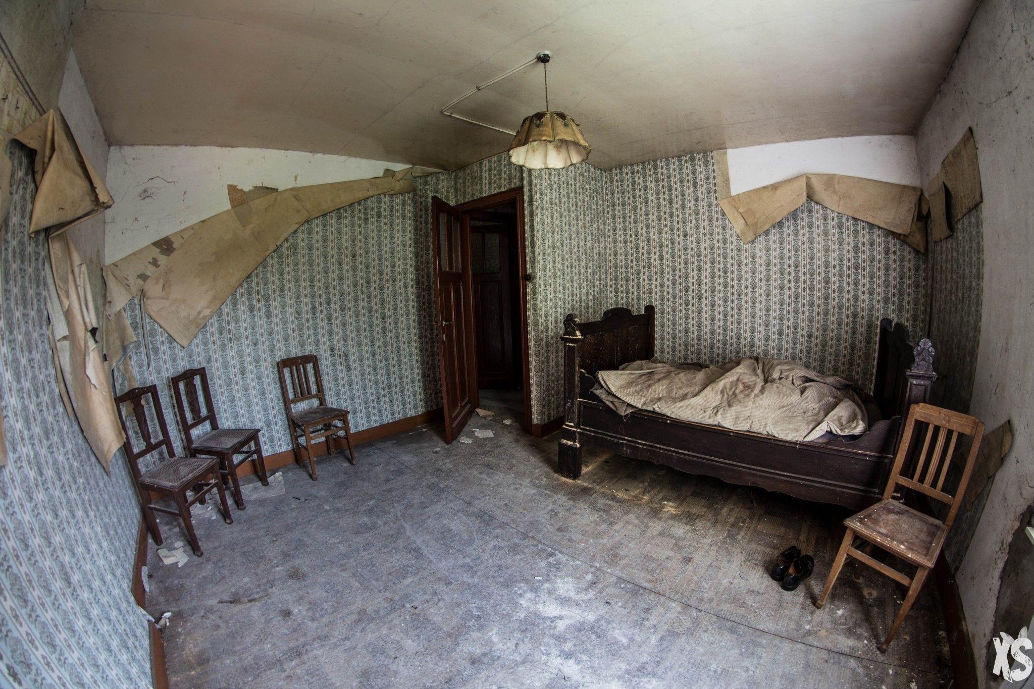 Maison abandonn e en belgique urbex pinterest - Chambre froide d occasion belgique ...