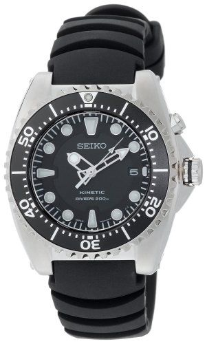 Seiko Men's SKA413 Adventure Kinetic Diver Watch