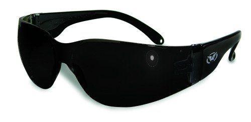 bffcc8aeacdcd Global Vision Rider Safety Glasses Super Dark Lenses