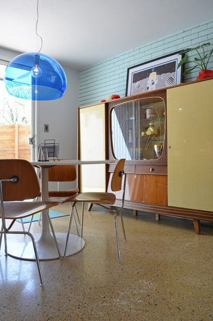 Modern Dining Room By Sarah Greenman From Houzz James And Cindy Stolp Highland Old Tv ConsolesChina Cabinet