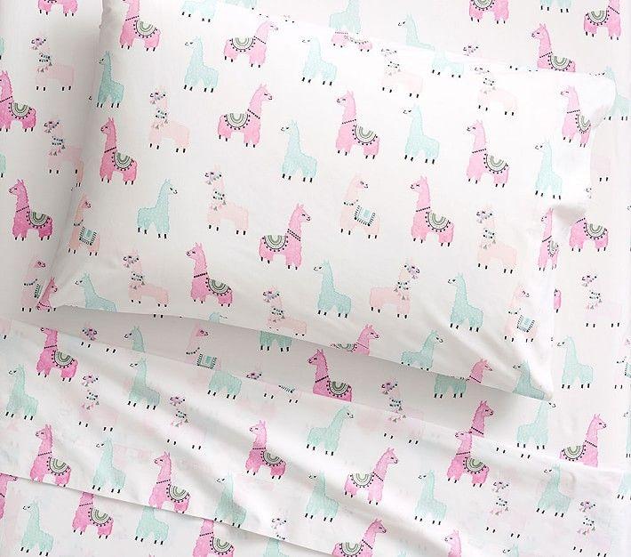 Organic Llama Sheet Set Ad Kids Sheet Sets Sheet Sets