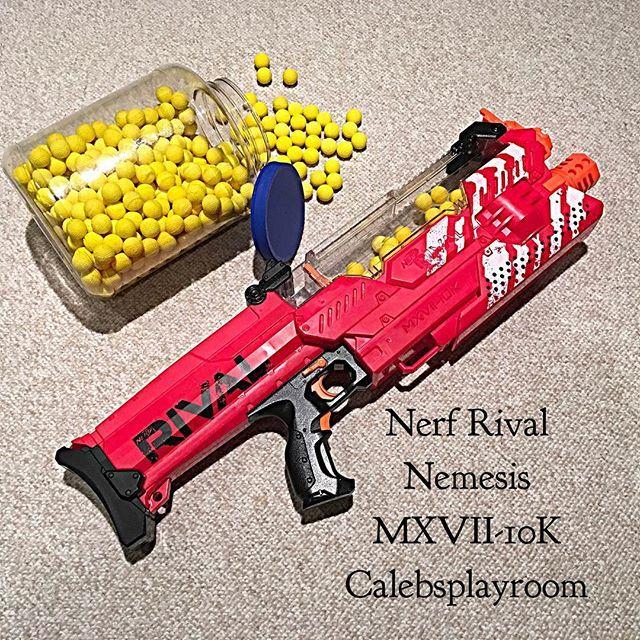 Hasbro NERF MEGA Twinshock NERF Gun redorange sci fi