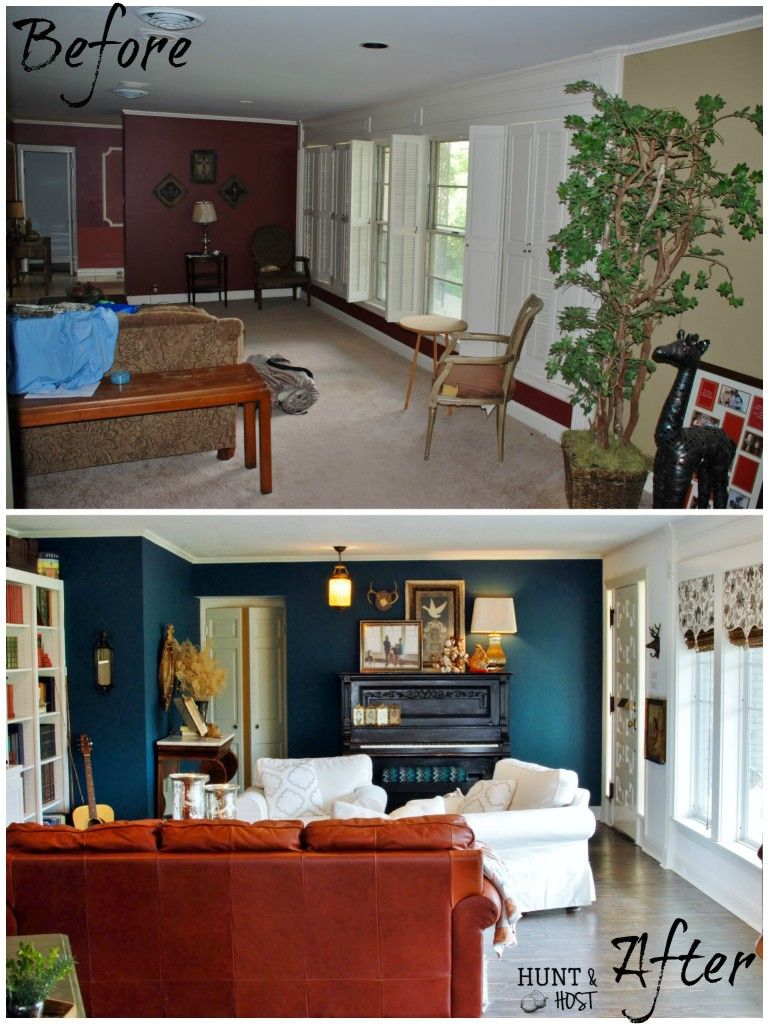 Hunt & Host Home Tour Living Room Big Space To Cozy Abode Alluring Den Living Room Review