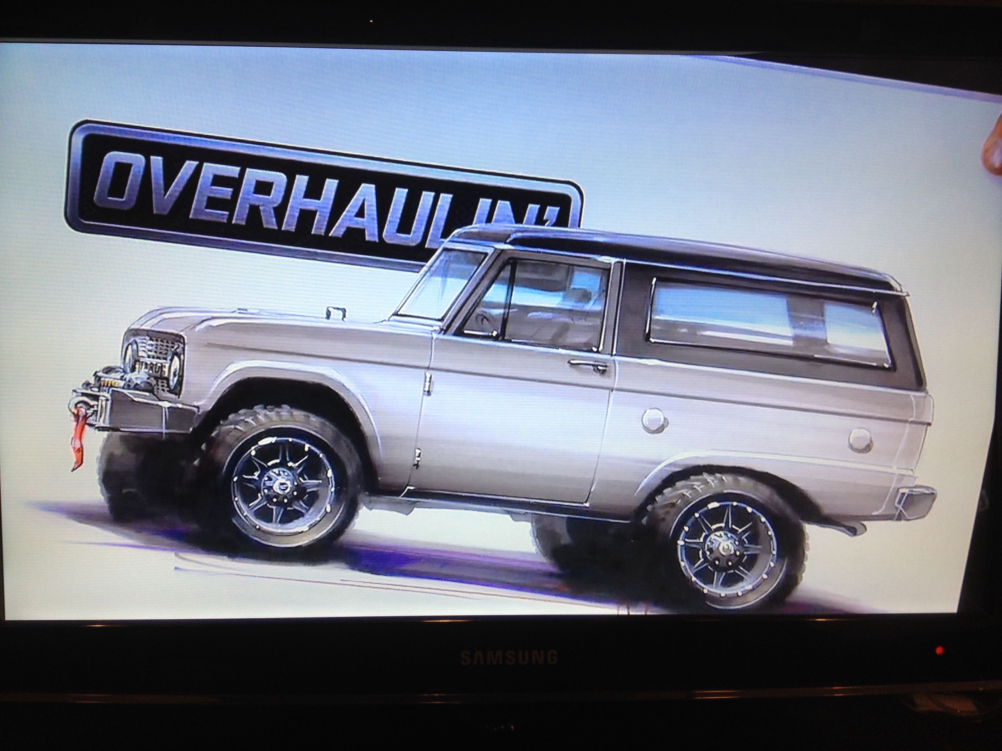 Chip Foose S Overhaul Blows My Mind Foose Beach Wagon Early Bronco