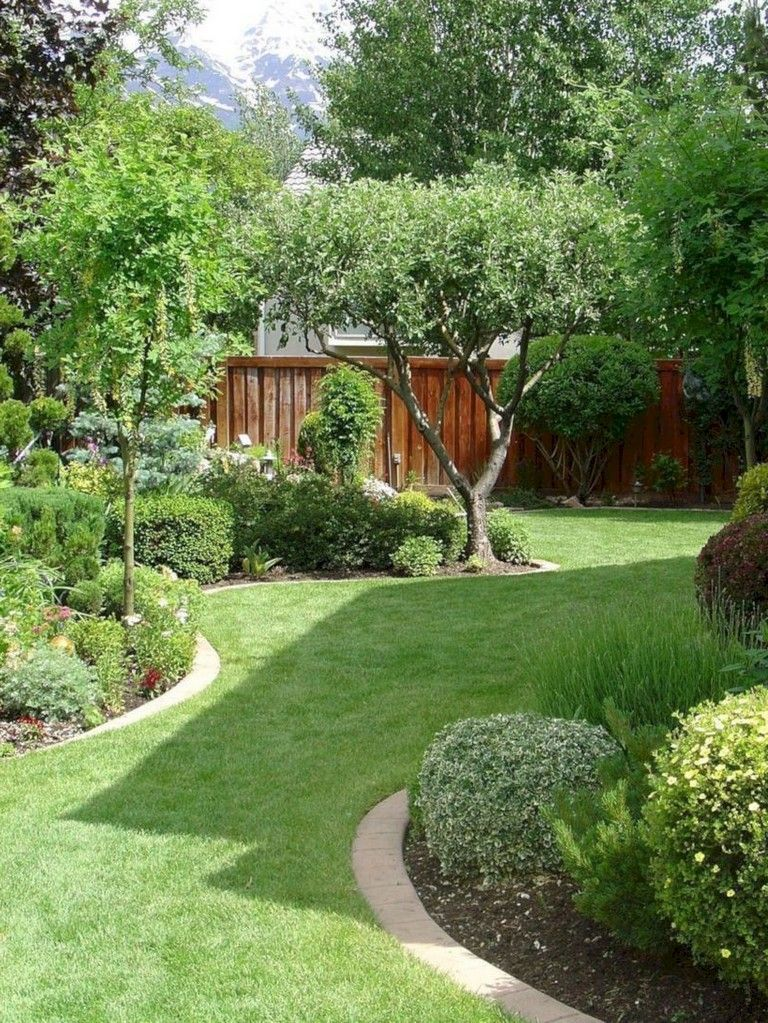 28 Beaty Small Backyard Landscape Designs To Your Garden Small