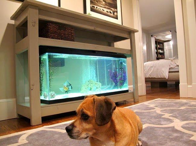 Diy Home Bar Console Table Diy Home Bar Diy Fish Tank Fish Tank